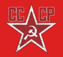 Russian Soviet Red Star CCCP Kids Tee