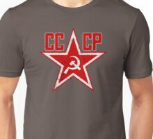 Russian Soviet Red Star CCCP Unisex T-Shirt