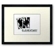 Elementary - Cards Framed Print