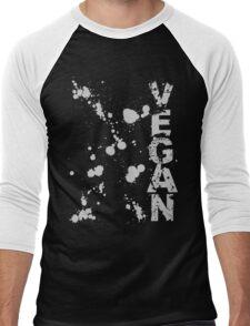 Retro Vegan Men's Baseball ¾ T-Shirt