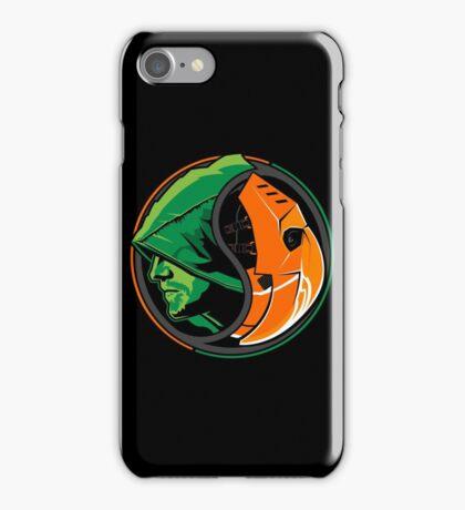 Arrow Slade Yin Yang iPhone Case/Skin