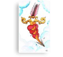 Cupids dagger Metal Print