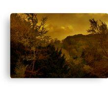 Sunset On Watlington Hill Canvas Print