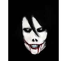 GO TO SLEEP - Jeff the Killer Photographic Print