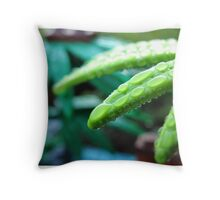 Morning in the jungle Throw Pillow