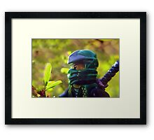 How to defeat Jungle Friends: Use a Green Ninja Framed Print