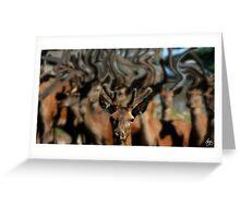 The Dreams of Deer 1 Greeting Card