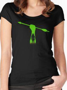 Green hero Women's Fitted Scoop T-Shirt