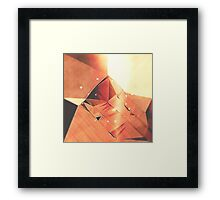 cardboard Mountain Framed Print