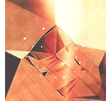 cardboard Mountain Photographic Print