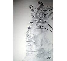 Kemetic Reflection - King Tutanhkamun  Photographic Print