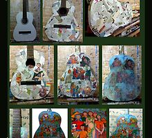 Symphony of colors - Creation process by Madalena Lobao-Tello