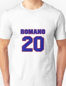 National baseball player John Romano jersey 20 T-Shirt