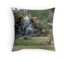 Restful Days Throw Pillow