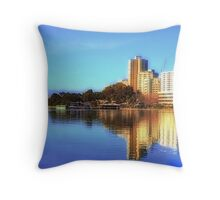 South Perth Foreshore Throw Pillow