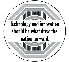 Technology and Innovation Photographic Print