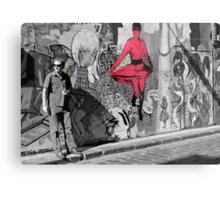 melbourne graffiti -  Metal Print