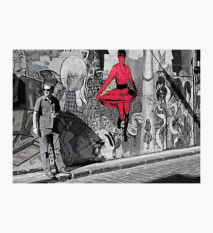 melbourne graffiti -  Photographic Print