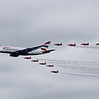 British Airways & The Red Arrows by Simon Hills