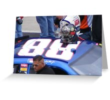 DALE JR. Greeting Card