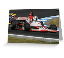 Wings Wheels and Horsepower Greeting Card