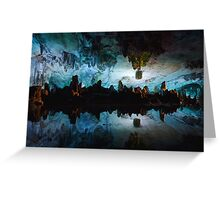 Reed Flute Cave Greeting Card