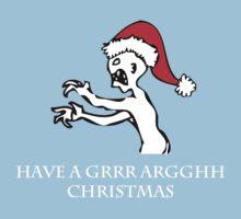 Grr Argh Christmas Baby Tee
