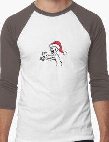 Grr Argh Christmas Men's Baseball ¾ T-Shirt