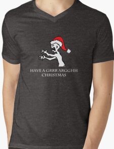 Grr Argh Christmas Mens V-Neck T-Shirt