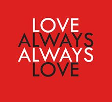 Always Love - Request Womens Fitted T-Shirt