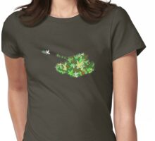 Peacekeepers (Olive dove or Olive drab) Womens Fitted T-Shirt