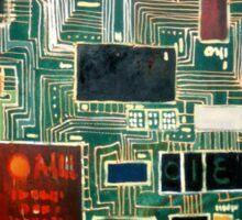 Modern Brains Sticker