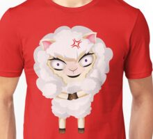 Cute Chibi Sheep 4 Unisex T-Shirt
