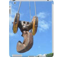 Large Crane Hook iPad Case/Skin
