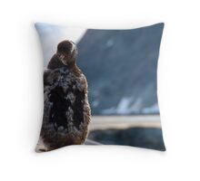 Moulting Throw Pillow