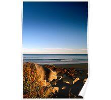 York Beach Poster