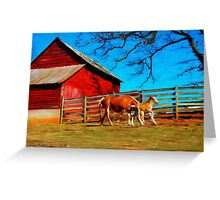Berryvine Barn Greeting Card