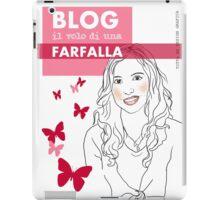 Blog il volo di una farfalla iPad Case/Skin