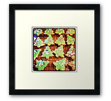 Christmas Biscuits Framed Print