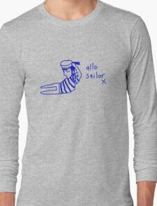 'Allo Sailor x' Long Sleeve T-Shirt