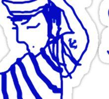 'Allo Sailor x' Sticker