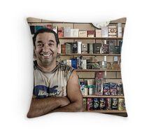Jim's Motel Throw Pillow