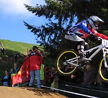 Rotorua MTB Worlds 2006 4 X by James O'Connor