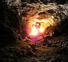 THE LIGHT @ THE END OF THE TUNNEL... by JAZ art
