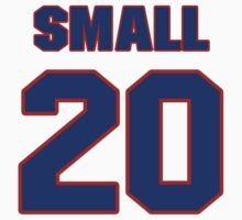 National baseball player Jim Small jersey 20 by imsport