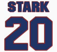 National baseball player Denny Stark jersey 20 by imsport