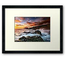 Kiama Dawn Framed Print