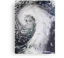 Photo of huge storm hitting the UK - United Kingdom - Giant Storm Canvas Print