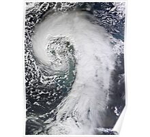 Photo of huge storm hitting the UK - United Kingdom - Giant Storm Poster