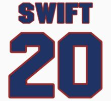 National baseball player Bill Swift jersey 20 by imsport